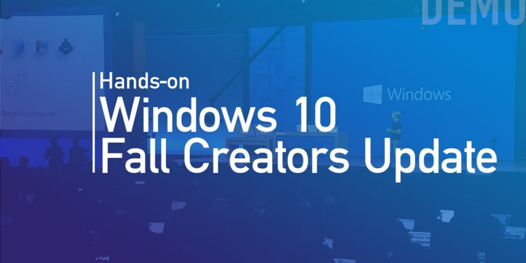 Windows 10 Fall Creators Update October 2017