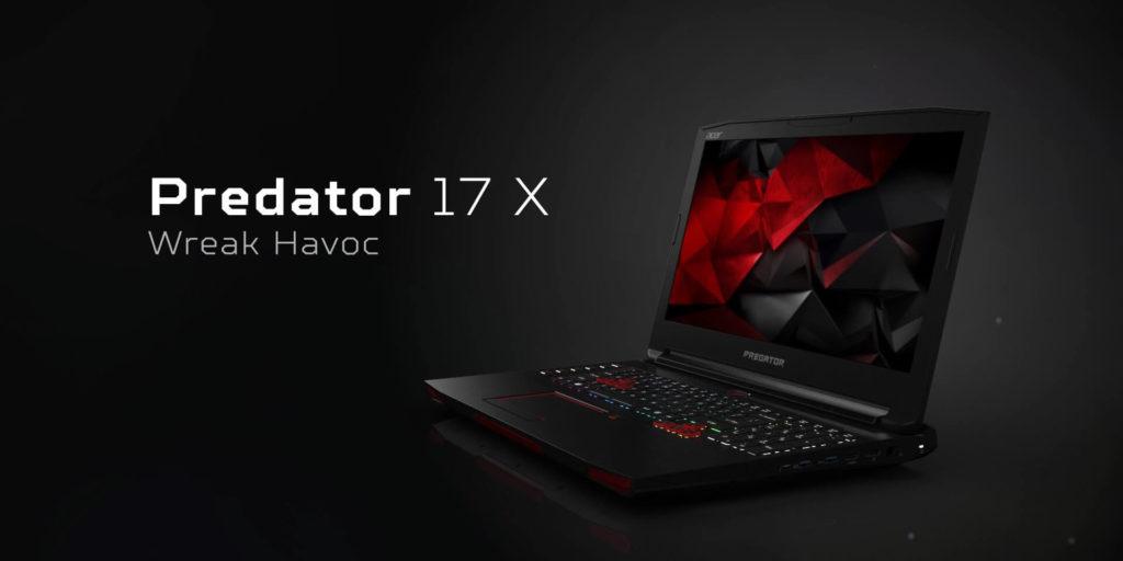 Acer Predator 17 X (2016)
